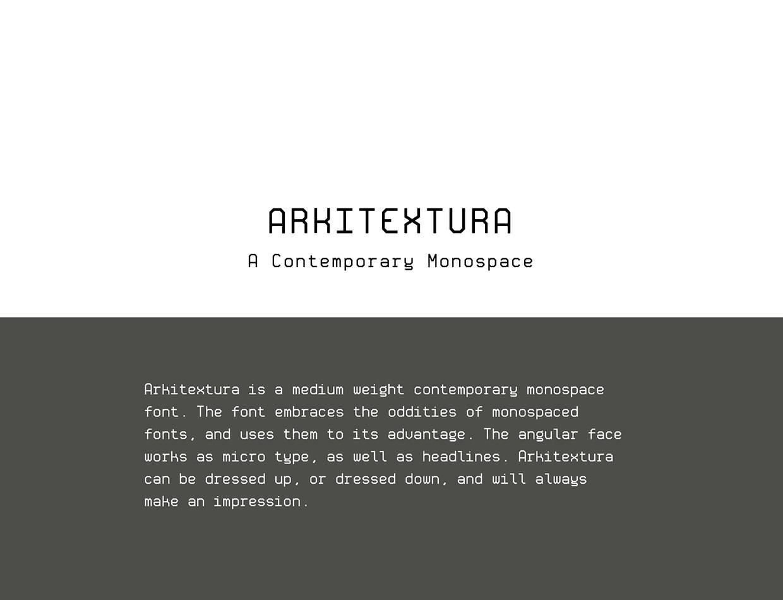 Шрифт Arkitextura Латиница скачать бесплатно