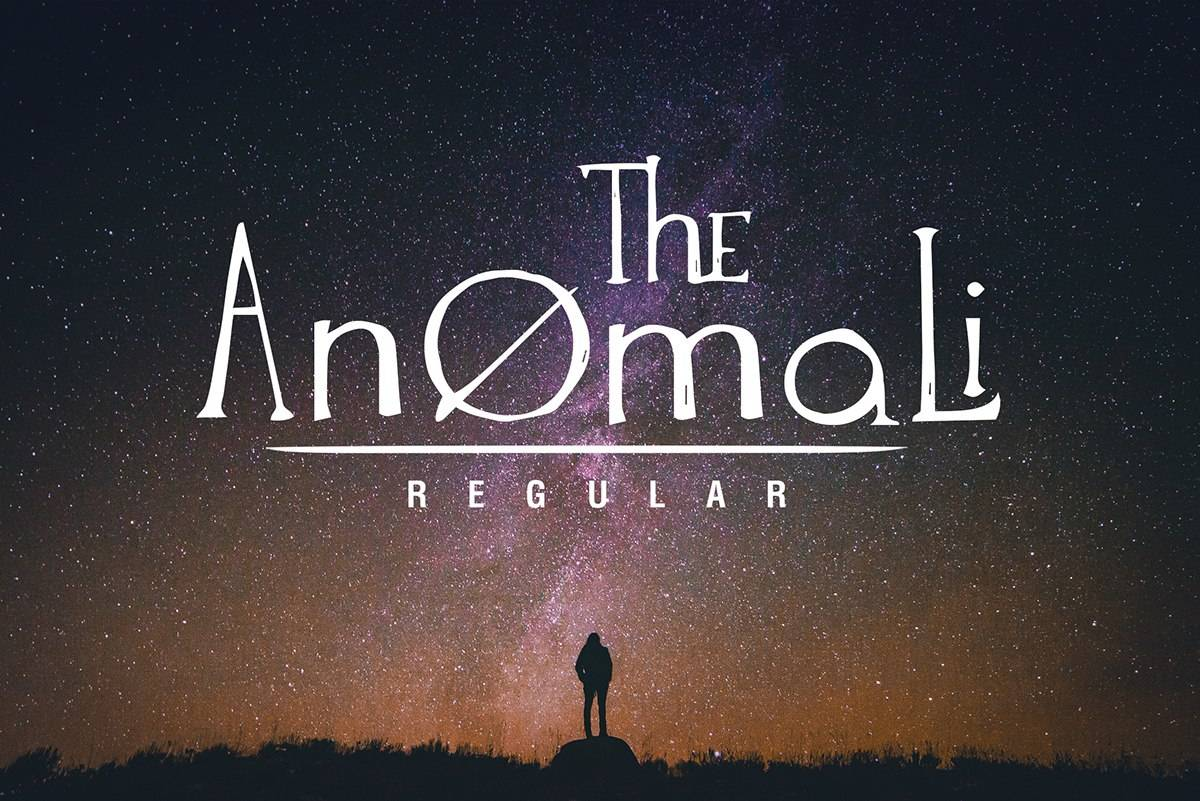 Скачать шрифт - Anomali Латиница