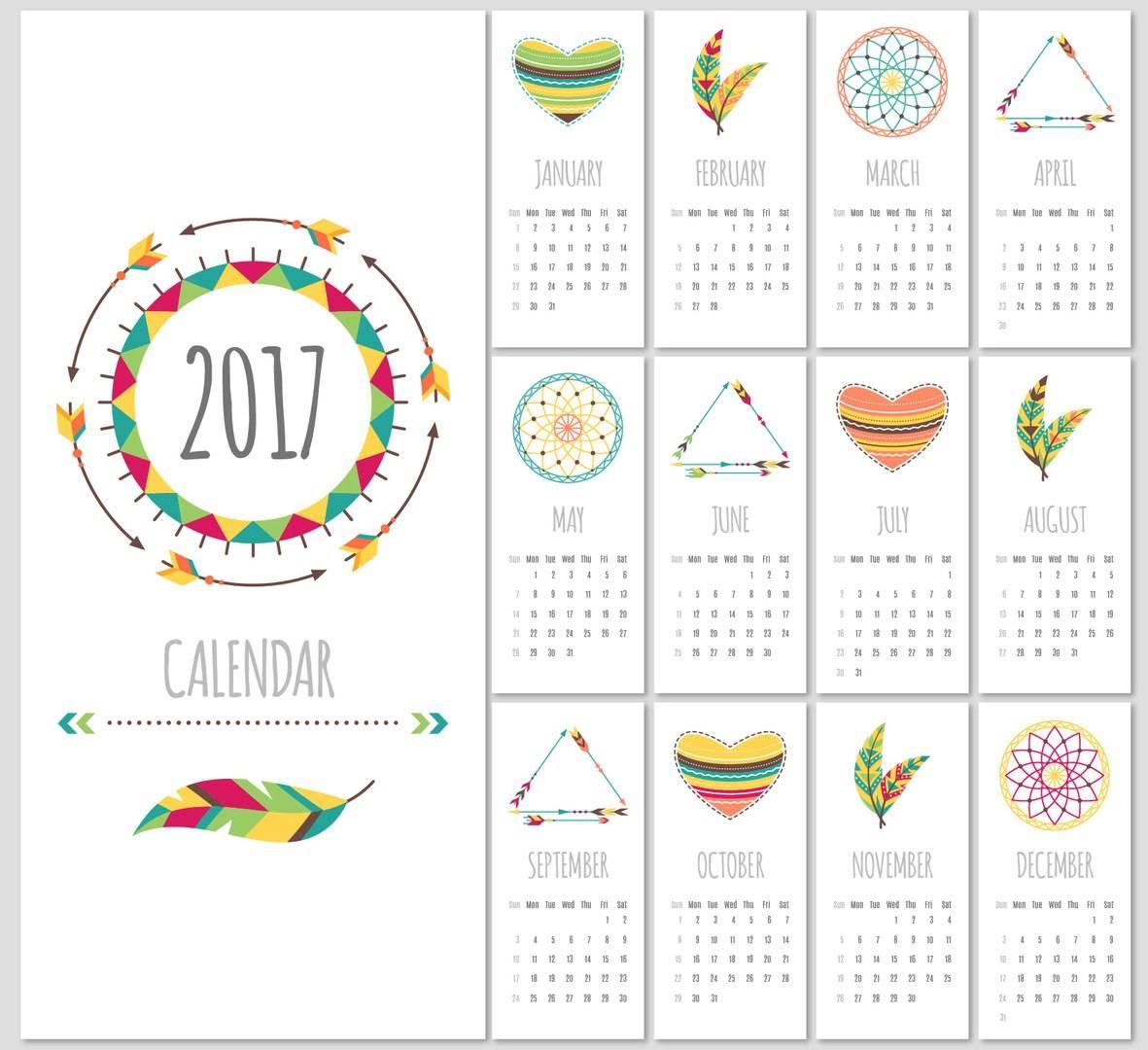 vektornyj-shablon-kalendarya-na-2017-god-6