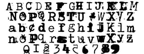 Шрифт Brenton Scrawl Type
