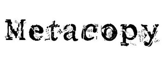 Шрифт - Metacopy