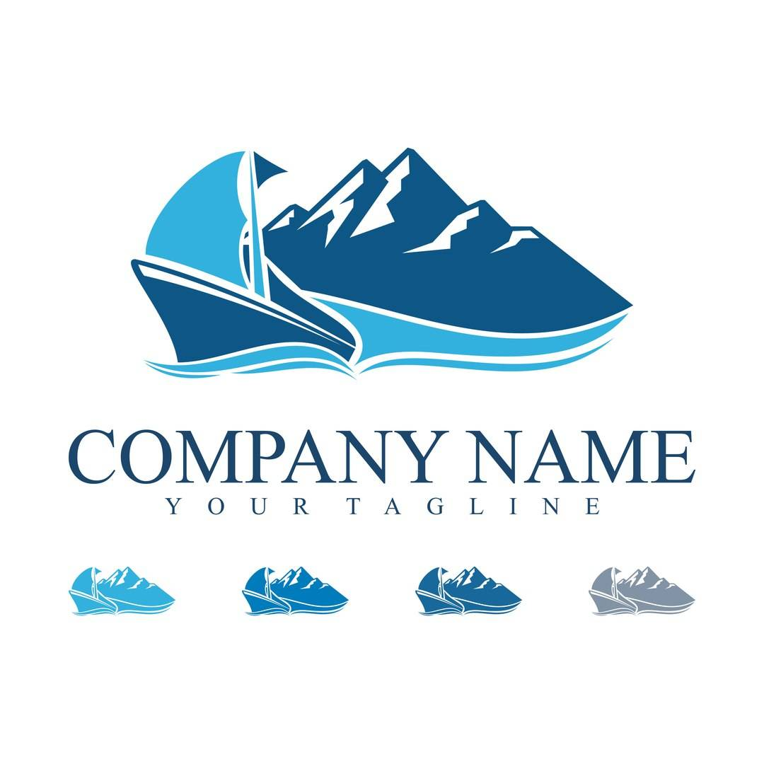 Исходники логотипов - логотипы лодок и морских суден