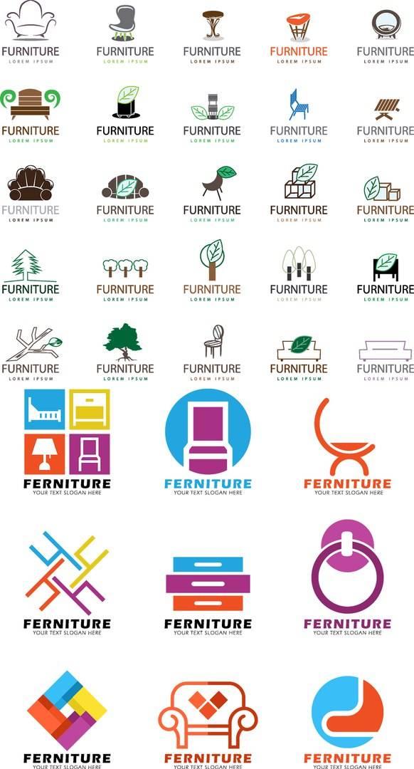 Логотипы мебели - исходники логотипов 2