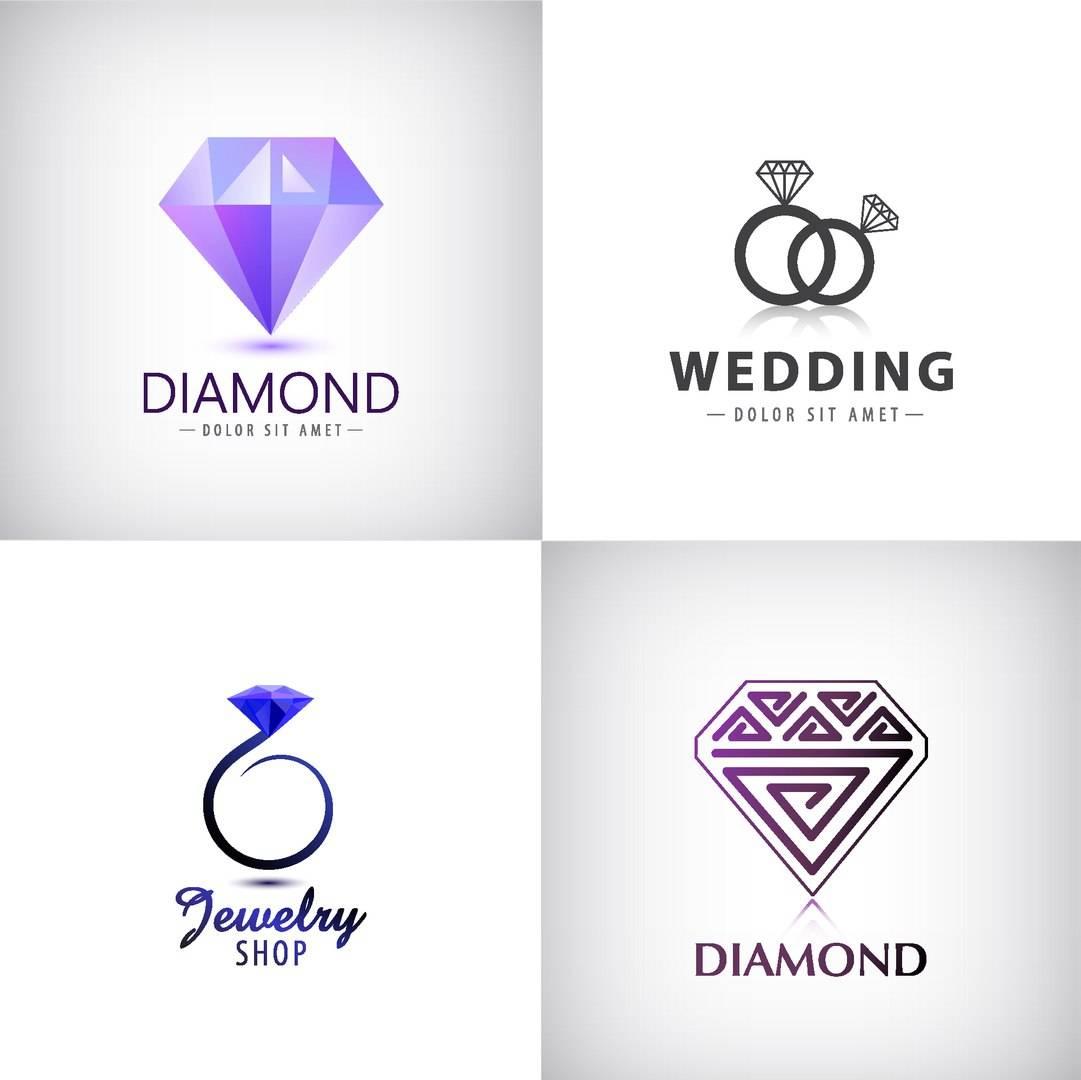 Логотипы ювелирных украшений - исходники логотипов