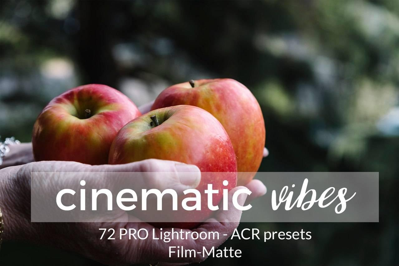 Набор кинематографических пресетов для Lightroom 2