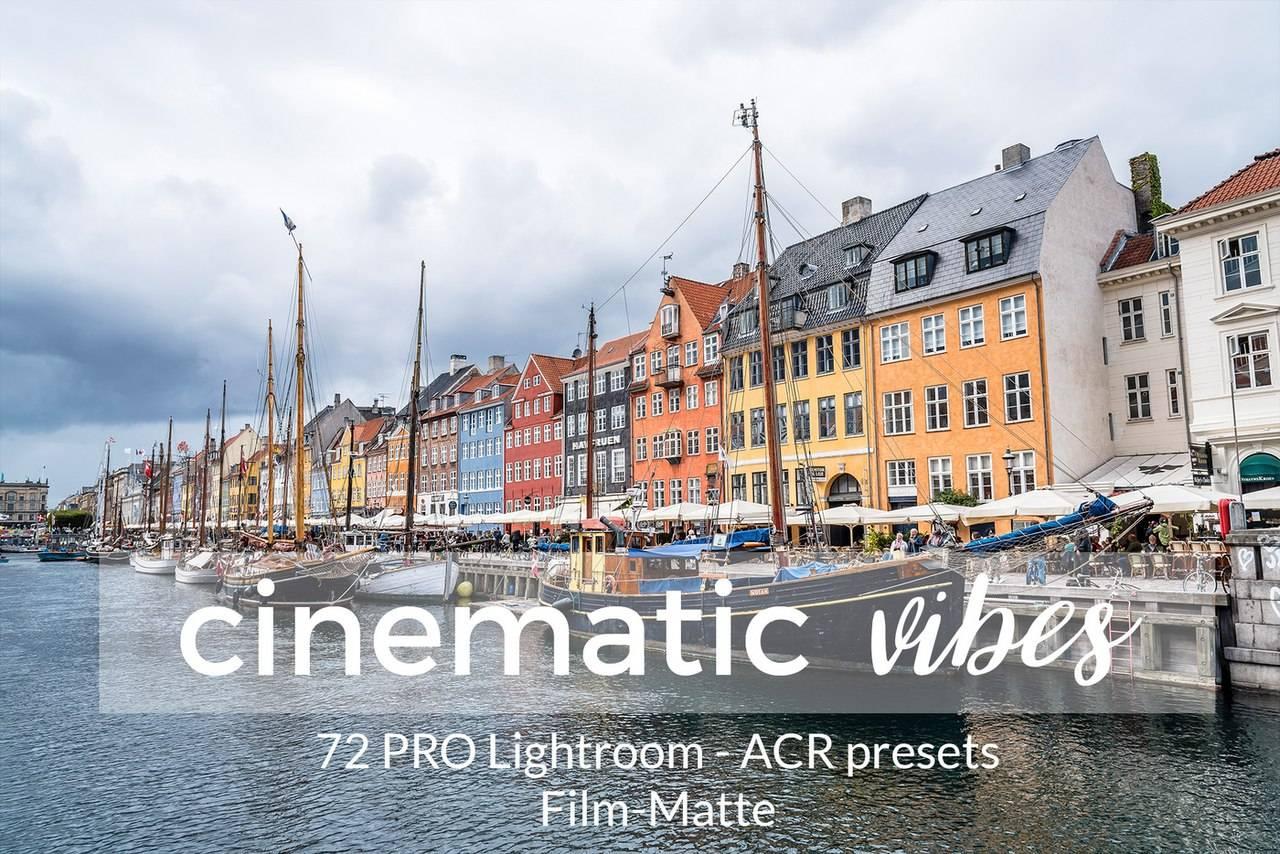 Набор кинематографических пресетов для Lightroom 4