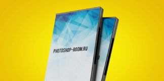 PSD исходник - DVD Box Cover Mockup