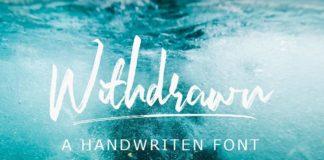 Шрифт - Withdrawn Латиница