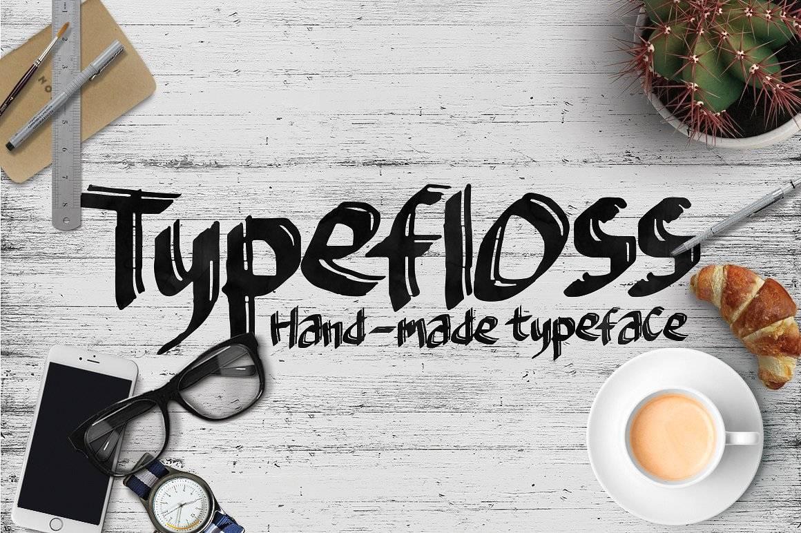 Шрифты - Typefloss Латиница