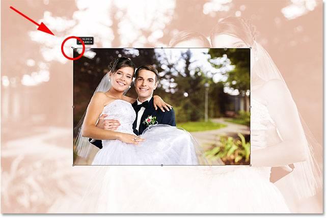 Свадебная обработка снимка - шаг 11-2