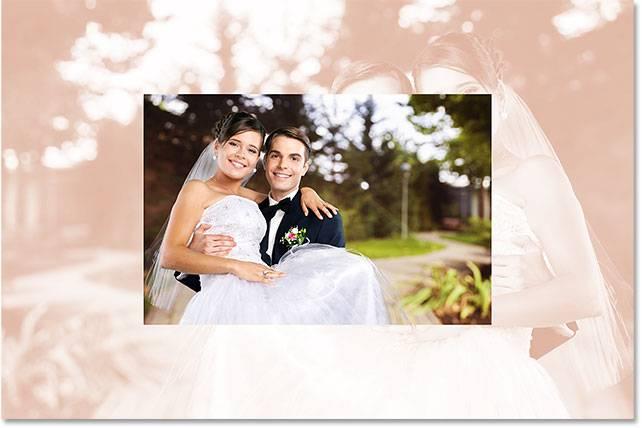 Свадебная обработка снимка - шаг 11-3