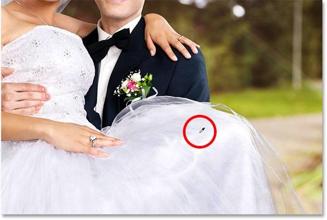 Свадебная обработка снимка - шаг 12-4