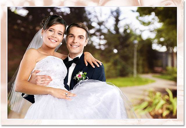 Свадебная обработка снимка - шаг 12-7