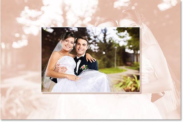 Свадебная обработка снимка - шаг 13-6