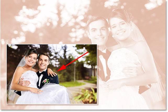 Свадебная обработка снимка - шаг 14-2