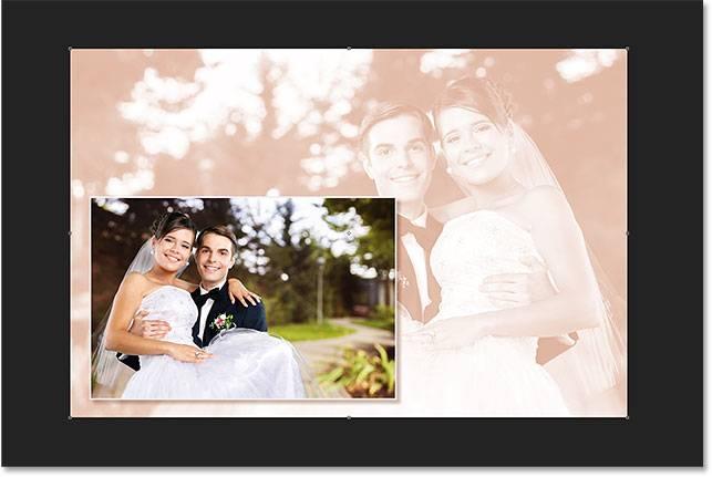 Свадебная обработка снимка - шаг 15-3