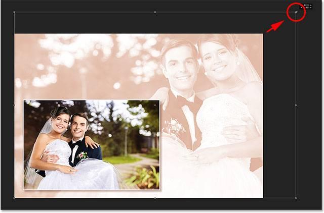 Свадебная обработка снимка - шаг 15-4