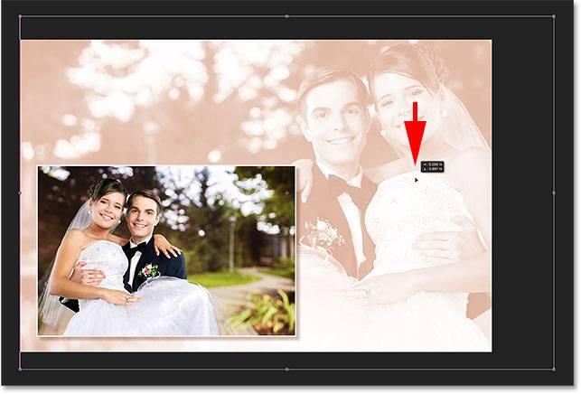Свадебная обработка снимка - шаг 15-5