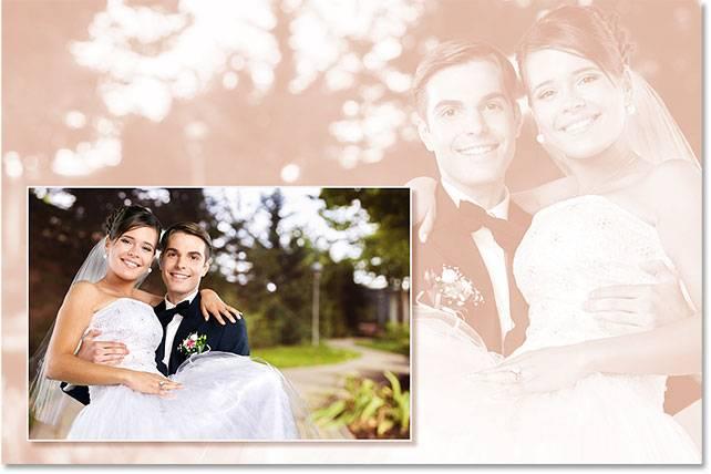 Свадебная обработка снимка - шаг 15-6