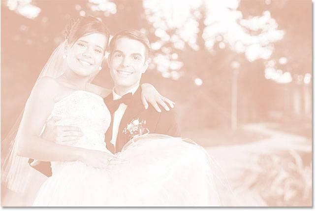 Свадебная обработка снимка - шаг 8-6