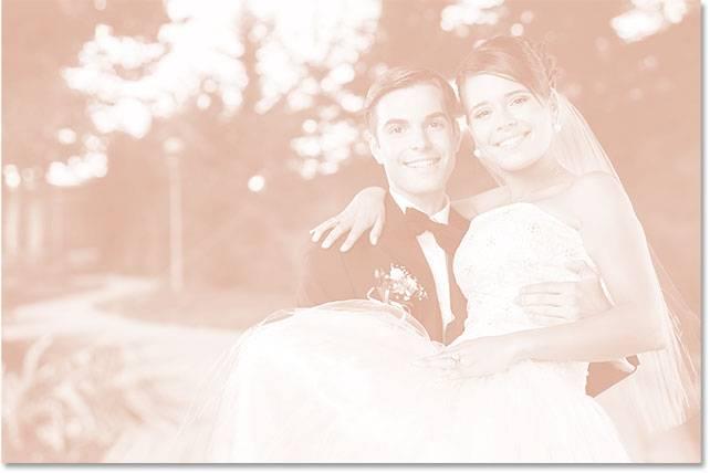 Свадебная обработка снимка - шаг 9-3