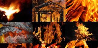 Бесшовные текстуры огня для фотошопа