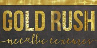 Бесшовные текстуры золота - фоны для фотошопа