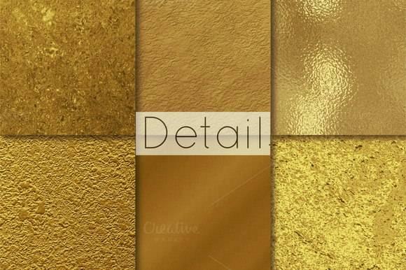 бесшовные текстуры золота