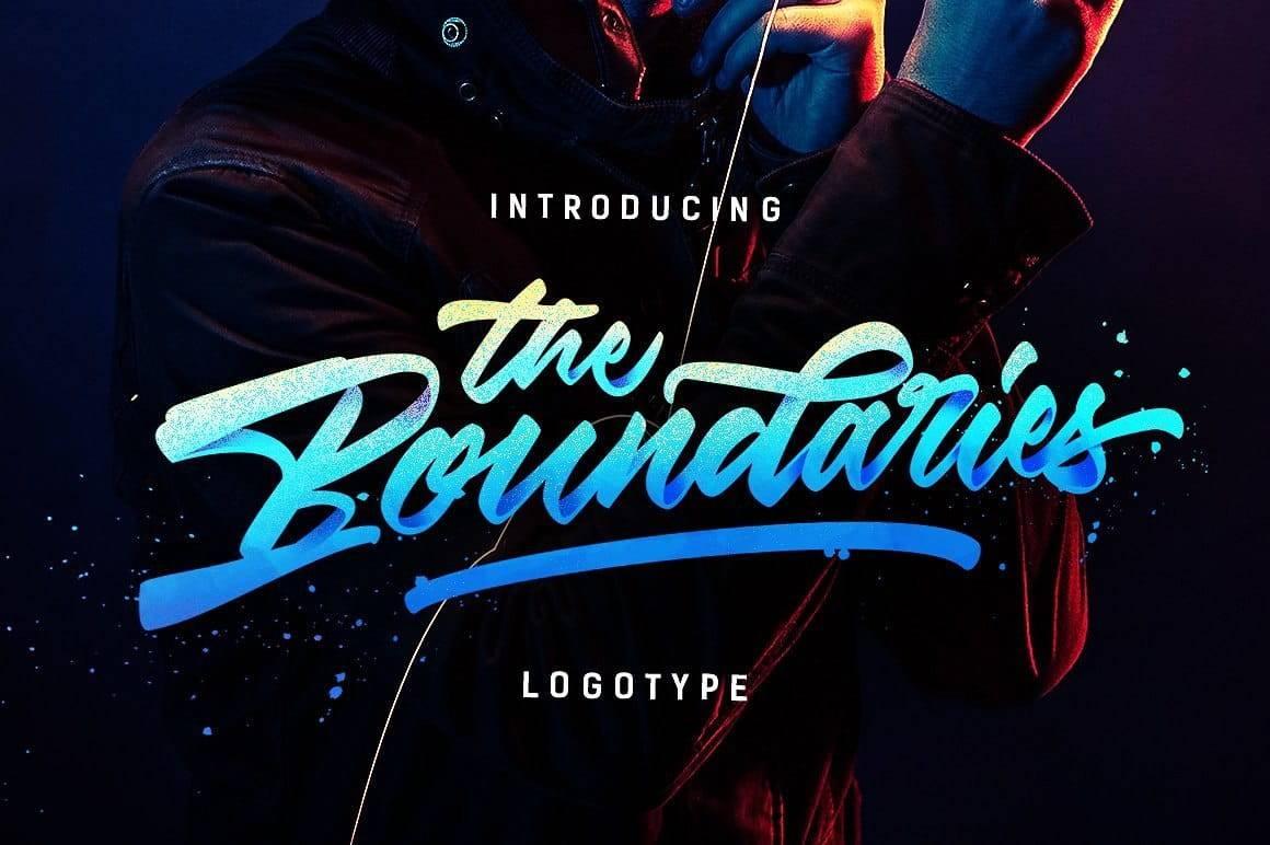 Шрифт - Boundaries