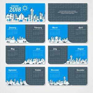 календари по месяцам