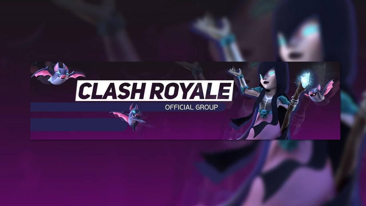 Шаблон для канала YouTube - Clash Royale