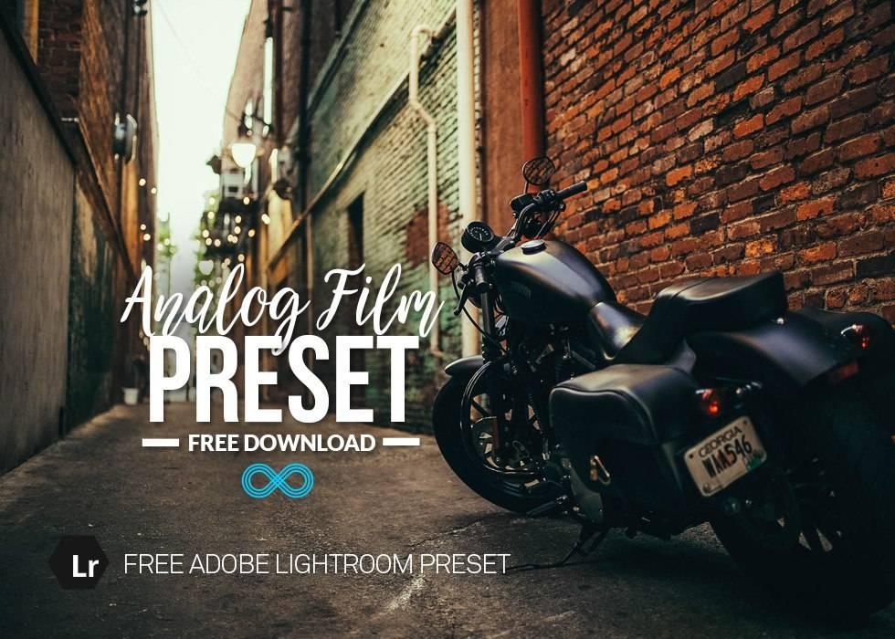 Пресет для Лайтрума - Analog Film Preset