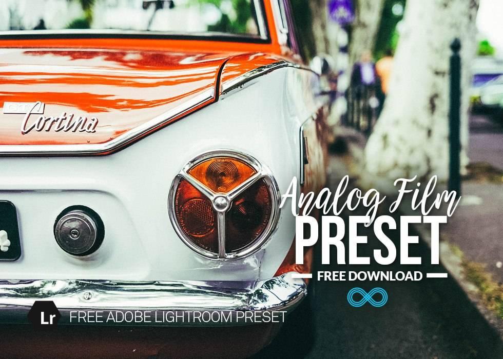 Пресет для Лайтрума - Analog Film Preset 3