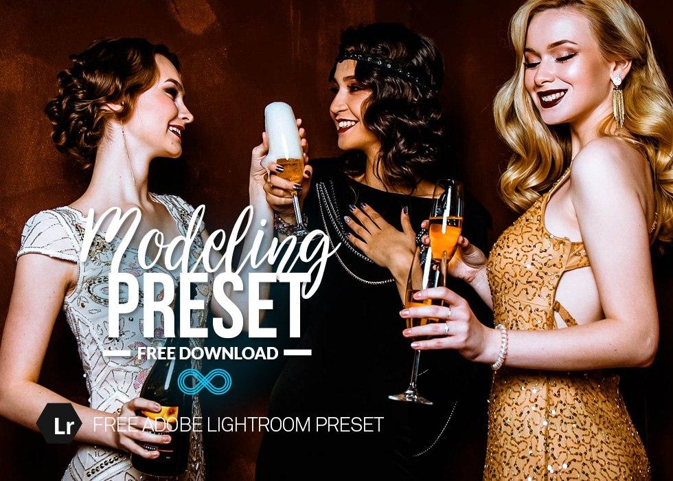 Modeling Lightroom Preset - Пресеты для лайтрума