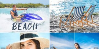 Beach Collection Lightroom Presets