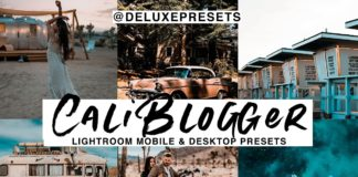 Cali Blogger Lightroom Presets